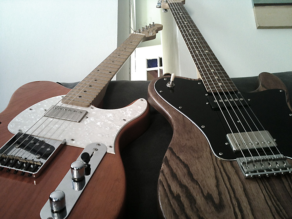 two telecasters